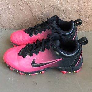 Girls Nike FastFlex Football Cleats Size 13C